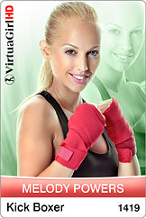 Melody Powers in Kick Boxer